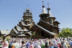 83. Patron Saint's day at All Saints Skete / Престольный праздник во Всехсвятском скиту