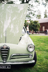 Untitled (Trtle) Tags: car show automotive meet concours delegance sony a7 voigtlander alfa romeo giulietta