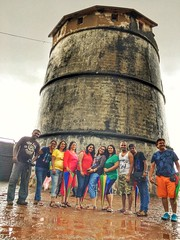 Whole gang at #agaudafort #snapseed #fort #history #travel #goa #rain #iphone6s #shotoniphone #clouds (karan667) Tags: iphone6s shotoniphone clouds agaudafort snapseed fort history travel goa rain