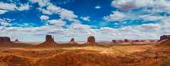 Monument Valley (Gregory Lebreton | Photography) Tags: landscape outdoors nature paysage wide angle travel beauty natural beautiful rocks rock formations mountains panorama panoramic usa us united states national park southwest monumentvalley nikon d800 d800e nikkor