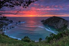 """""""La Playa del Silencio"""" (Pepelahuerta) Tags: asturias atardeceres atlanticooceano canon1635eff4 leefilters playadelsilencio singhrayfilters cielos mar paisajes playas ultraangulares"""