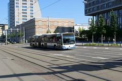 Mercedes Citaro 420 (V-Foto-Zrich) Tags: bus mercedes zrich autobus vbz gelenkbus verkehrsbetriebe citaro zrilinie