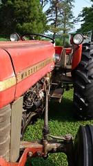 Tractor (ctcrankees) Tags: red tractor rural masseyferguson