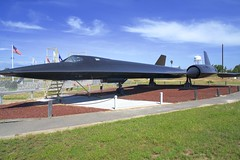 SR-71 Blackbird (<<Purple Bullet>>) Tags: castle air museum b17 b24 b29 b36 b47 b52 vulcan sr71 bomber fighter aircraft plane sonya6000 zeiss