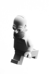 homer (jooka5000) Tags: blackandwhite bw monochrome toys photography shadows lego profile donut homer series thesimpsons minifigs minimalism simpson rushing kwikemart toyphotography 71016 minfigs