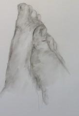 Wattenmeerelfenfe (loulila71) Tags: art sketch akt watercolour aquarell bleistiftzeichnung sketchaday fse