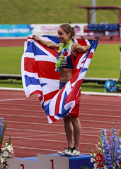 Female track runner (stevennokes) Tags: woman field athletics birmingham track meadows running smith mens british hudson sainsburys asher muir hurdles rooney 100m 200m sprinter 400m 800m 5000m 1500m mccolgan twell