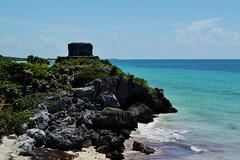 Tulum (Araceli San Martin) Tags: tulum playa mar azul riviera maya quintana roo ruinas ciudad coral