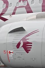 Airbus A319-133(LR) (A380spotter) Tags: internationalaeroengines iae v2500 v2527a5 turbofan engine powerplant airbus a319 100lr 100 a7cja الهلال alhilal qatar القطرية qatarairways qtr qr القطريةلطائراترجالالاعمال qatarexecutive qqe qe staticdisplay fia16 sbacfarnboroughinternationalairshow2016 taglondonfarnboroughairport eglf fab