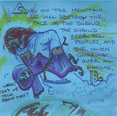 Is 25 (Scruffy Mynxbane) Tags: death scripture bible isaiah enemy