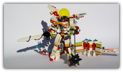 (peter-ray) Tags: mecha lego beast chima minifigure robot android mobile suite armor peter ray samsung nx2000 blade sfondo bianco