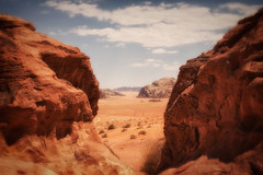 Through the doorway (madcityfinearts) Tags: jordan wadirum bedouin desert cliffs sand sandstone landscape travel