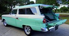 1956 Ford Ranch Wagon (austexican718) Tags: hotrod restomod ford wagon v8 302