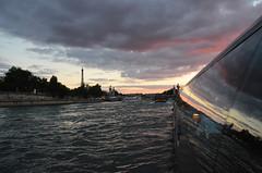 paris_2016_2607 (rollertilly) Tags: paris seine bateaux mouches frankreich france bootsfahrt brcken ponts pontneuf eiffelturm abendsonne