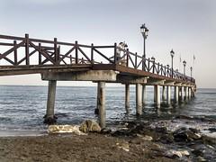 Embarcadero - Marbella club (LUIS FELICIANO) Tags: espigon pantalan embarcadero muelle marbella mar mediterraneo playa olympus e5 lent1122mm