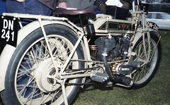 Matchless Model 7? V- Twin Reg: DN 241 (bertie's world) Tags: sunbeam pioneer run 1979 epsomdowns motorcycles matchless model7 reg dn241