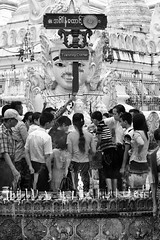 Prayers in Yangon (virtualwayfarer) Tags: myanmar yangon rangoon burma burmese street streetphotography canon canon6d asia southeastasia adventuretravel exploring dailylife people tour tourism candle candles incense prayer praying faith fire smoke shwedagon pagoda shwedagonpagoda alexberger virtualwayfarer