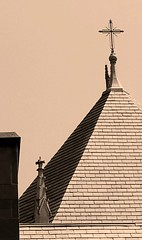 Spires of St. Ita (williamw60640) Tags: stitacatholicchurch spire cathedral indianalimestone frenchgothic chicago