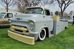 2016 Grand National Roadster Show (USautos98) Tags: 1956 chevrolet chevy coe cabover truck carhauler hotrod streetrod custom lowrider grandnationalroadstershow gnrs pomona california