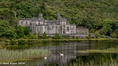 Kylemore Abbey (PapaPiper) Tags: ireland connemara countygalway kylemoreabbey lake landscape waterscape greatphotographers