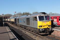60066 (DennisDartSLF) Tags: wansford train nenevalleyrailway 60066 class60 dbschenker