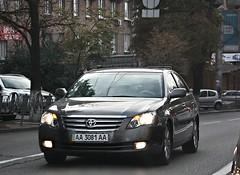 AA3081AA (Vetal 888 aka BB8888BB) Tags: toyota avalon licenseplates ukraine kyiv  aa3081aa aa   aaaa
