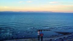 20160914_192246-01 (hafssa_13) Tags: tangier tanger morocco maroc sea sun sunset seashore beautiful view spain espagne blue