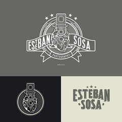 Esteban Sosa Photography (Hoy no me quiero levantar) Tags: logo typography photography design graphicdesign letters icon lettering brand branding artdirection logotype