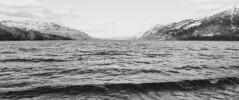 Wave (mynameisblank!) Tags: water sky mountains beach blackandwhite lakedistrict lake uk cumbria snow cold nikond300s nikon nikond3oos travel alwaysmoving lightroom editedinlightroom manfrotto manfrottotripod manfrottobefree