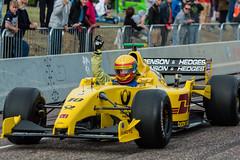 Jordan F1 Car (Stephen Hersee) Tags: cars festival demo nikon wheels fast sigma straight bournemouth 70200 f28 2015 d3200 jordanej12