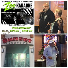 """#MemorialDay weekend continues tonight with #karaoke at Sunset Downtown in #HendersonNV the fun starts at 6pm so come for dinner and stay to sing whether you have tomorrow off work or not!  Great food, drinks, staff and fun people. Come as strangers, leav • <a style=""""font-size:0.8em;"""" href=""""http://www.flickr.com/photos/131449174@N04/18053199111/"""" target=""""_blank"""">View on Flickr</a>"""
