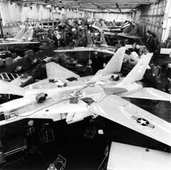 Grumman F-14A production line Calverton 1986 mfr 863853-7 [GHC via RJF] (San Diego Air & Space Museum Archives) Tags: grumman f14a longisland calverton cto aviation aircraft airplane militaryaviation navalaviation unitedstatesnavy usnavy usn grummanf14tomcat grummanf14 grummantomcat f14 tomcat grummanf14atomcat grummanf14a f14atomcat prattwhitney prattwhitneytf30 tf30 aircraftmanufacturing