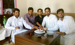 Happy Birth Day - Irfan Kayani - Incharge Guldasta - Weekly Pindi Post (2) (Dhakala Village) Tags: سالگرہ مبارک happybirthday celebration mibrahim ibrahim ibrahimdhakala irfankayani shahzadraza mirzasulman firdosmehmood abduljabbar kake smilingface gathering home