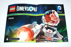 71210 1 lego dimensions cyborg wave 1 fun pack 2015 k instruction manual (tjparkside) Tags: 2 3 stone comics fun one 1 robot justice dc lego guard wave sonic victor part pack walker cannon laser vic shooting cyborg stud league cyber mech dimensions manmachine wrecker 2015 71210 cyberwrecker