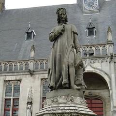 Jacob van Maerlant in Damme (Joop van Meer) Tags: damme 2016 maerlant flanderscoastpath