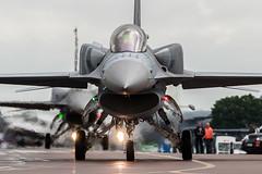 Lockheed Martin F-16C Fighting Falcon (Przemyslaw Burdzinski) Tags: lockheed martin f16c fighting falcon poland air force 4056 raf fairford tattoo 11072016