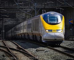 """Into the Light"" (MSRail Photography) Tags: class373 373 eps eurostar passenger emu"