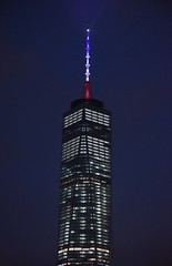 Governor Cuomo Directs One World Trade Center Spire to Display in Red, White, and Blue in Call for National Unity (governorandrewcuomo) Tags: nyc newyorkcity tribute 1wtc oneworldtradecenter