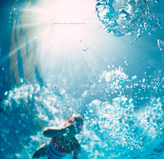 Swimming (Robert Lang Photography) Tags: swimming swim holdingyourbreath air bubbles pool swimmingpool square colour color softfocus negativespace copyspace australia summer fun play underwater robertlangphotography robertlang robertlangportlincoln robertlangaustralia wwwrobertlangcomau