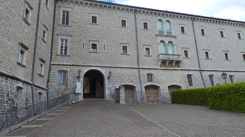 Monte Cassino - the abbey entrance