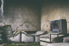 ....I want my, I want my MTV (Strange Artifact) Tags: olympus em10 mkii mark2 mzuiko 25mm 18 urbex urban exploration ue abandoned decay germany overlook hotel