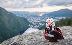 Shaak Ti Solveigsdotter and Bergen (Reiterlied) Tags: 1020mm angle bergen d5200 dslr jedi lego landscape legography lens minifig minifigure nikon norway photography reiterlied shaakti sigma starwars stuckinplastic toy uwa viking wide