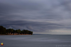 Stormy over Lakeshore Community - Wendt Beach, Lake Erie - Derby, NY (DTD_4836) (masinka) Tags: shoreline lakeshore lake erie greatlakes storm clouds dusk longexposure slowshutter derby ny newyork outdoors water community weather nikon digital d610 etbtsy 716 wny western