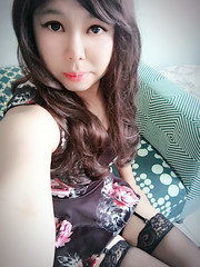 Good morning, dearie. (xiaostar01) Tags: boytogirl mtf    crossdresser otokonoko