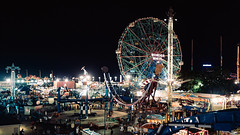 Wild river (Dj Poe) Tags: nyc ny brooklyn bklyn coneyisland wonderwheel 2016 summer night candid cinematic street photography cinema zeiss sony sonyilce7rm2 distagont1435 ze availablelight people tones colors andrewmohrer djpoe carlzeisslenses a7rii a7r2 a7rmii 35mm mirrorless