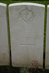 A. Quinn, Cheshire Regiment, 1915, War Grave, Poperinghe (PaulHP) Tags: ww1 world war 1 first marker grave headstone cwgc belgium military cemetery a andrew quinn private service number 11944 21st february 1915 cheshire regt regiment 2nd bn battalion poperinghe old kirkdale lancs birkenhead