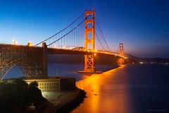California - San Francisco Golden Gate Twilight (Yen Baet) Tags: goldengate bridge sanfrancisco ca california twilight night pacific usa us america