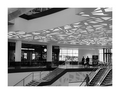 DSCF5647 (smoothna) Tags: bw architecture shopping centre poland starbucks straightfromcamera smoothna lodzd fujix30