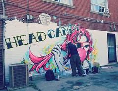 Head Candy (France-) Tags: 336 murale art travail peinture mur wall homme man toronto ontario canada candid