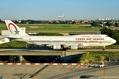 [ORY] Royal Air Maroc Boeing 747-400 (Timothe Savour) Tags: royal air maroc boeing 747 747400 cnrga